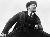 Празднование I-ой годовщины Великой Октябрьской революции