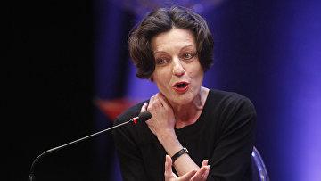 Немецкий писатель и лауреат Нобелевской премии по литературе Герта Мюллер