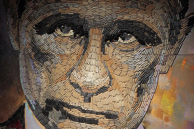 Работа украинской художницы Даши Марченко
