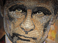 Работа украинской художницы Даши Марченко «Лицо войны»