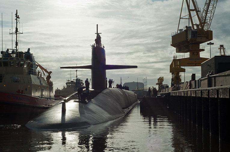 Подводная лодка USS Maryland (SSBN 738) класса «Огайо»