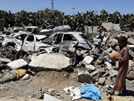 Последствия авианалетов коалиции во главе с Саудовской Аравией в Йемене
