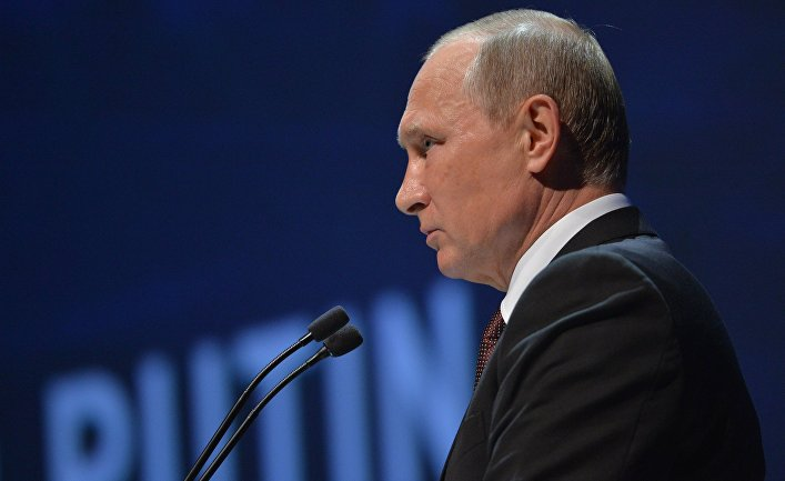 Президент РФ Владимир Путин в Стамбуле