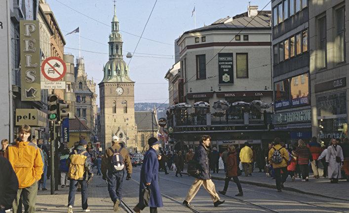 Город Осло, столица Норвегии