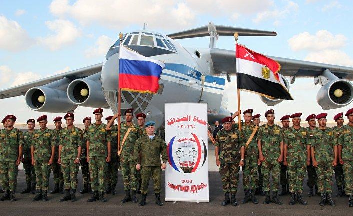 Российско-египетские антитеррористические учения «Защитники дружбы - 2016»