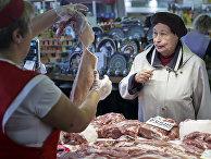 Кунцевский продуктовый рынок в Москве