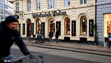Кафе в Копенгагене, Дания