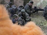 Тренировка немецкой армии в Мюнстере