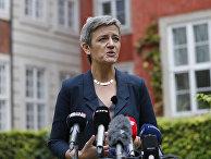 Еврокомиссар по вопросам конкуренции Маргрете Вестаге