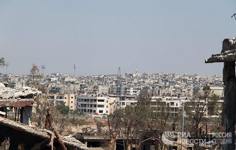 Сирийская армия освободила от боевиков территорию военных училищ в Алеппо