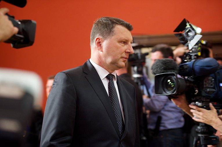 Президент Латвии Раймонд Вейонис