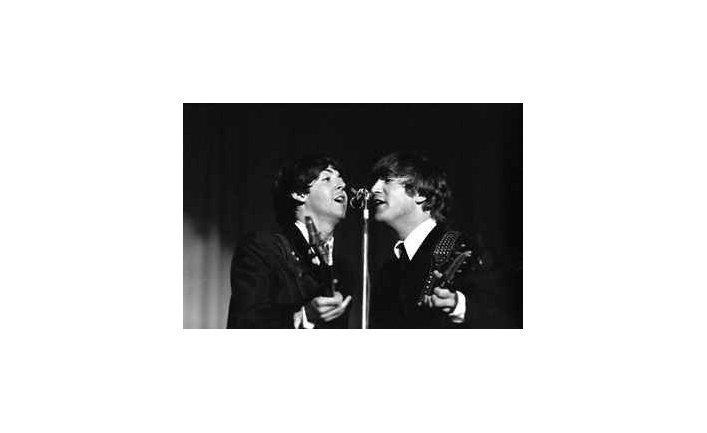 Фото из коллекции неизвестных снимков группы Beatles