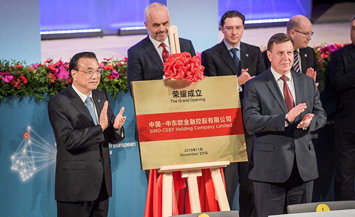Глава Госсовета КНР Ли Кэцян и премьер-министр Латвии Марис Кучинскис