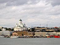 Вид на город Хильсинки