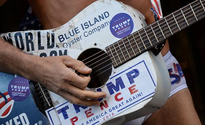 Нью-Йорк накануне выборов президента США