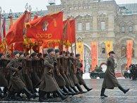 Марш, посвященный 75-й годовщине военного парада 1941 года на Красной площади
