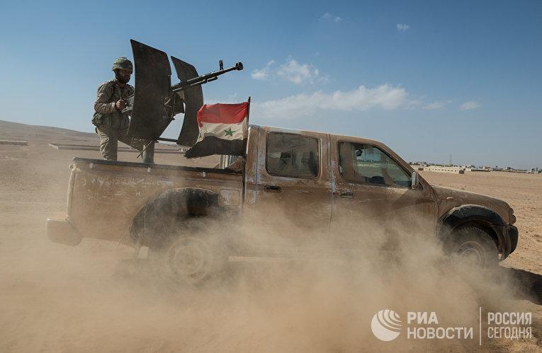 Автомобиль Сирийской арабской армии