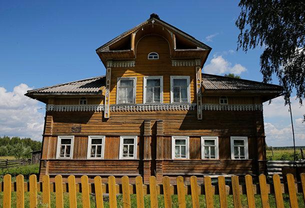 Дом в деревне Гридинская, Архангельская область
