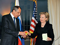 Встреча глав внешнеполитических ведомств России и США Сергея Лаврова и Хиллари Клинтон в Женеве