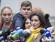 Второй тур президентских выборов в Молдавии