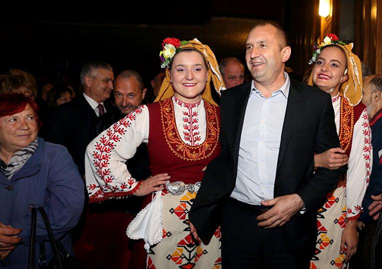 Кандидат в президенты Болгарии Румен Радев