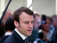 Новый министр экономики Франции Эмманюэль Макрон