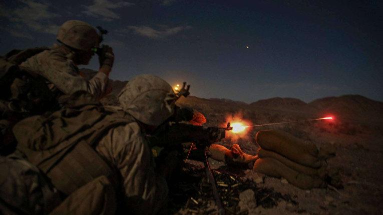 Стрельбы морских пехотинцев США
