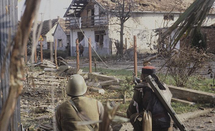Военные действия в Вуковаре