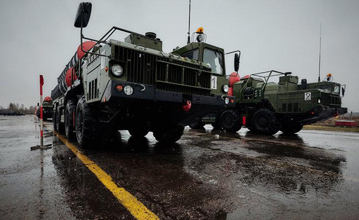 Зенитно-ракетные комплексы «Триумф» С-400