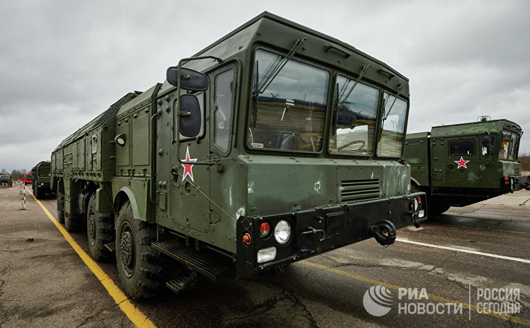 """Тактические ракетные комплексы """"Искандер"""". Архивное фото"""