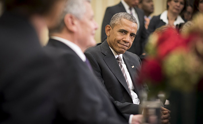 Встреча Барака Обамы с Йоахимом Гауком в Белом доме