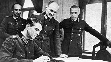 Немецкий генерал-фельдмаршал Фридрих Паулюс