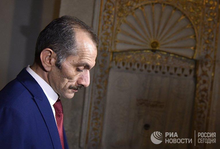Глава турецкой ассоциации евразийских правительств Хасан Дженгиз в Крыму