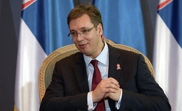 Председатель правительства Республики Сербия Александр Вучич
