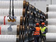 Трубы для строительства «Турецкого потока»