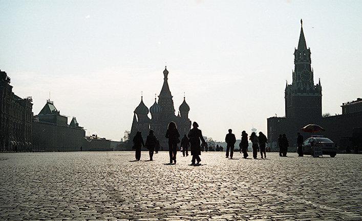 Вид Красной площади в Москве