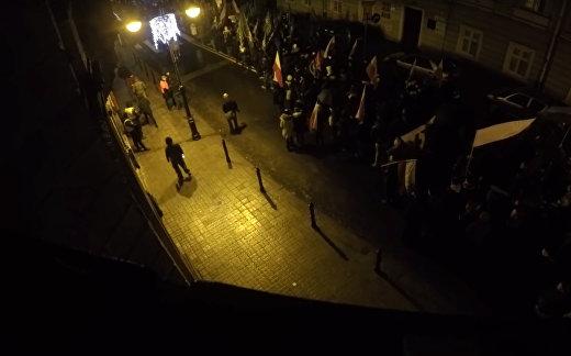Польские националисты: «Смерть украинцам!»