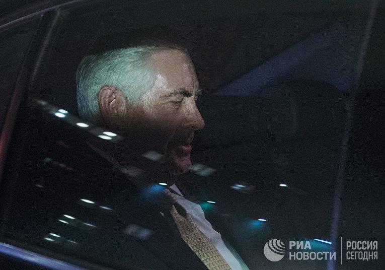 Глава американской ExxonMobil Рекс Тиллерсон приехал в министерство энергетики РФ