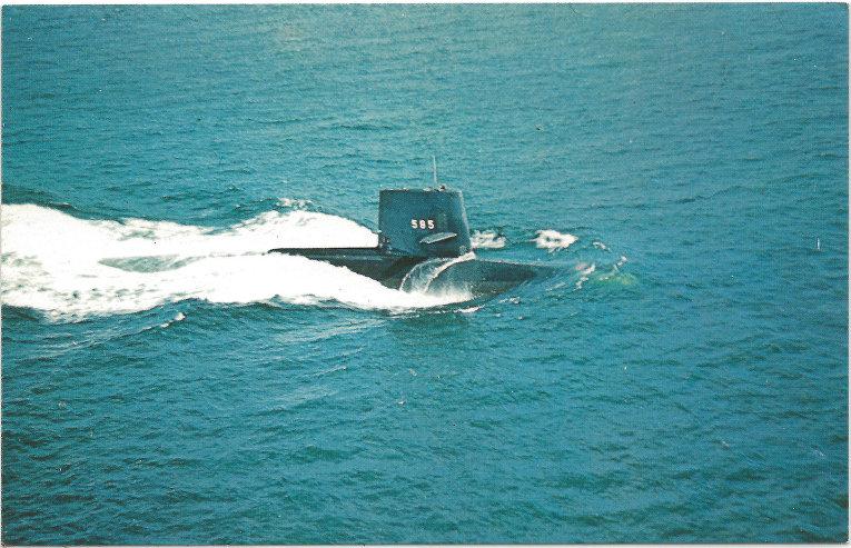 Американская подводная лодка типа «Скипджек»