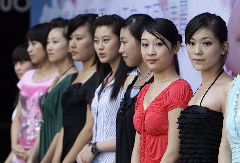 Участницы конкурса «Мисс Азия» из Пекина и Тяньцзиня
