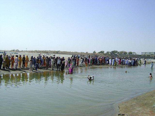 Инд, крупная река в Южной Азии