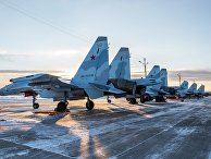 Самолеты Су-35 в Республике Карелия