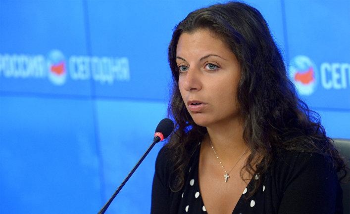 Главный редактор агентства «Россия сегодня» и телеканала RT Маргарита Симоньян