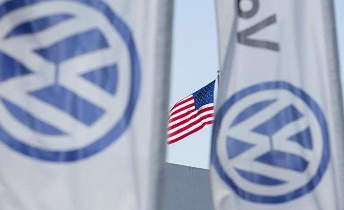 Дилерский центр Volkswagen в США