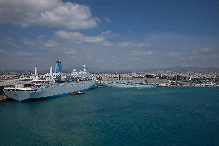 Порт в Лимассоле на Кипре
