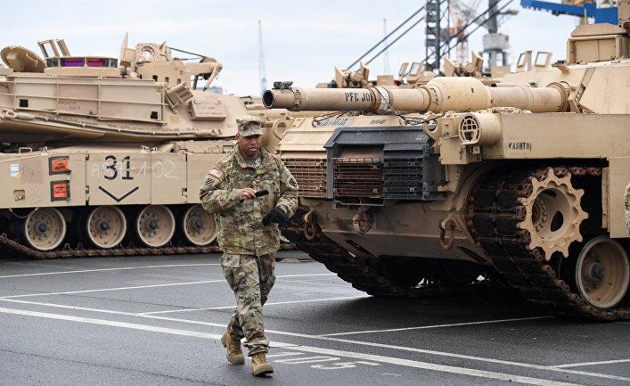Американские танки в Германии