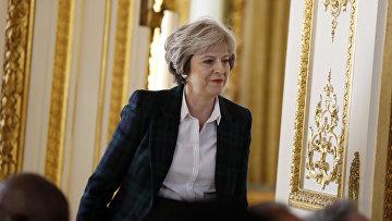 Премьер-министр Великобритании Тереза Мэй