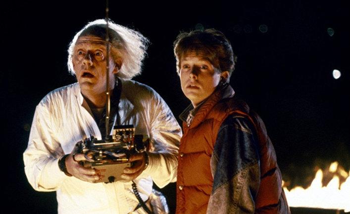 Кадр из фильма «Назад в будущее»