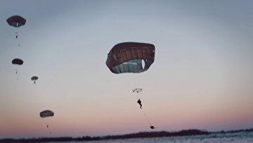 Американцы десантировались в Латвии