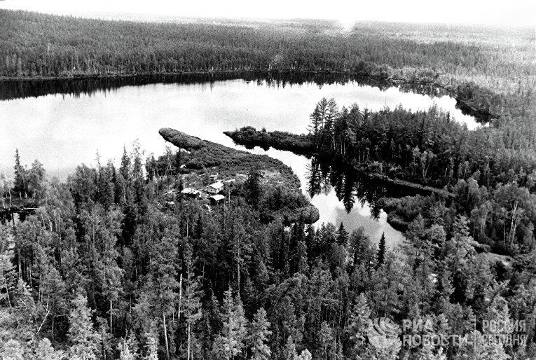 Место падения Тунгусского метеорита